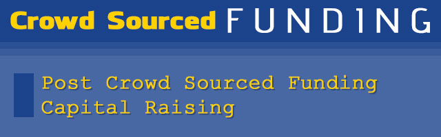 Crowd Sourced Funding
