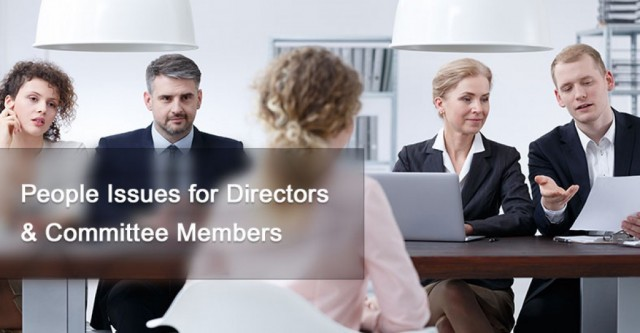 People Issues for Directors & Committee Members