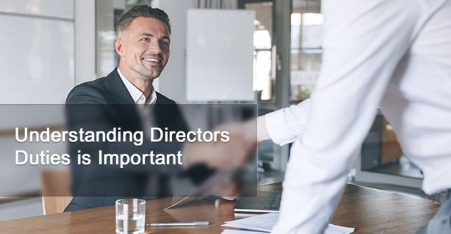 Understanding Directors' Duties Is Important